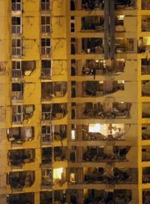 Casa_cuartel_Burgos_despues_explosion_coche_bomba_ETA