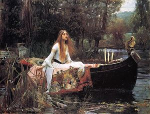The Lady of Shalott_1888